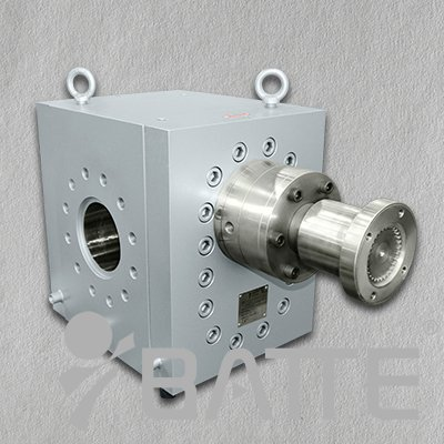 Pipeline gear pump for polymer